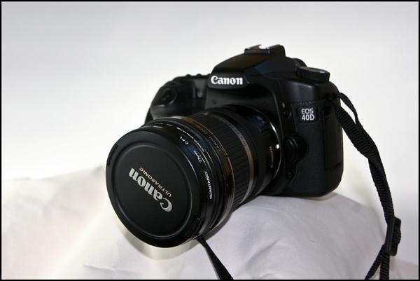camera canon EOS40D