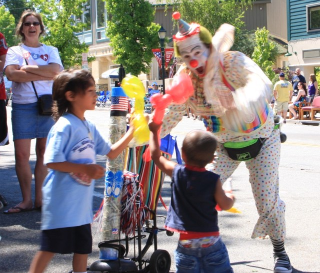Clown and Parades
